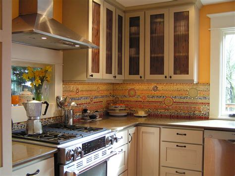 Custom Backsplashes For Kitchens : Custom Kitchen Backsplash By Alexandra Immel