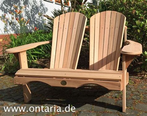 adirondack chair seat made from canadian