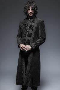 Viktorianischer Stil Kleidung : viktorianischer samt mantel mit posament schliessen gothic m ntel f r m nner bei voodoomaniacs ~ Watch28wear.com Haus und Dekorationen