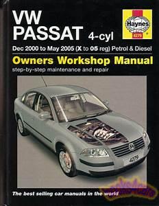 Passat Diesel Volkswagen Shop Manual Service Repair Book