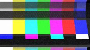 Color bars and analog TV static - some of the effects ...