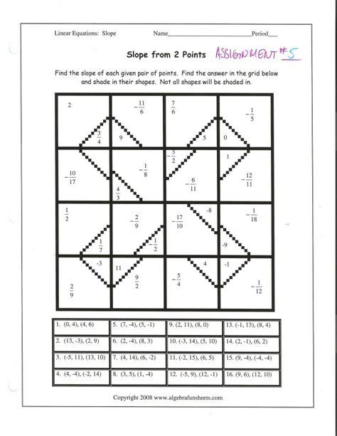 slope from a table worksheet worksheets finding slope worksheet atidentity com free