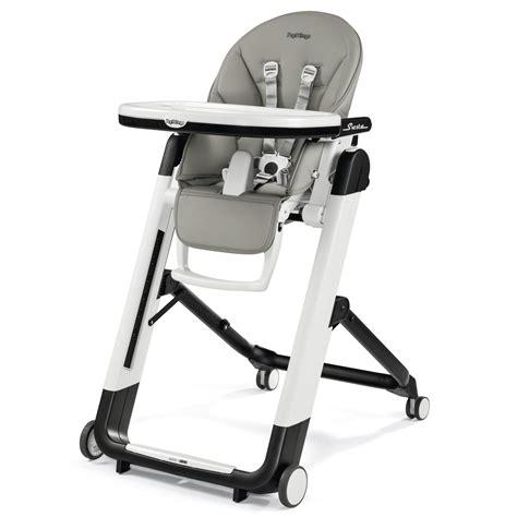 chaise haute qui s accroche à la table chaise haute siesta de peg pérego chaises hautes