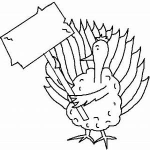 Turkey Clip Art Black And White - ClipArt Best