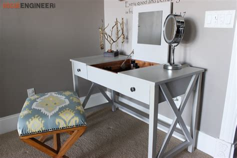 Flip Top Vanity Free Diy Plans Rogue Engineer