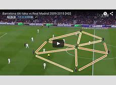 VIDEO FC Barcelona 'tiki taka' versus Real Madrid [2009