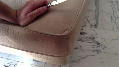 nettoyer canape tissu nettoyer du daim astuces de nettoyage