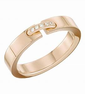 Chaumet liens evidence 18ct pink gold wedding band for Chaumet wedding ring