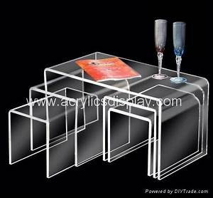 acrylic nesting table coffee table aft 04 tw china With acrylic nesting coffee table