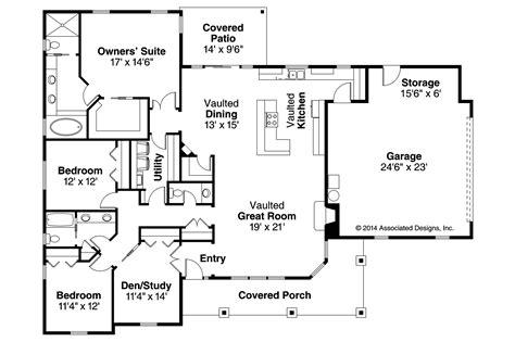 ranch floorplans ranch house plans brightheart 10 610 associated designs