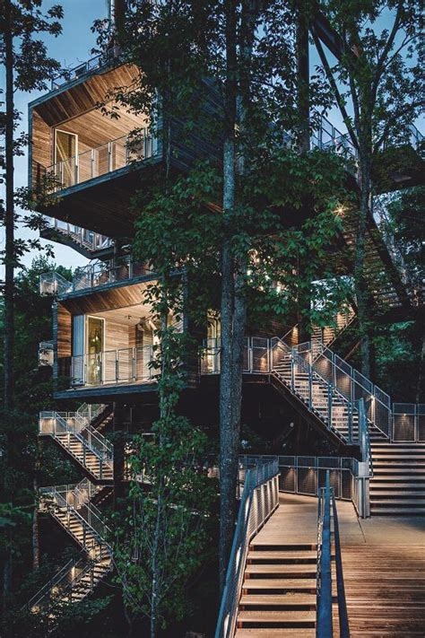 luxury tree houses youd   move