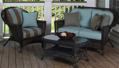 how to clean artificial wicker outdoor furniture front