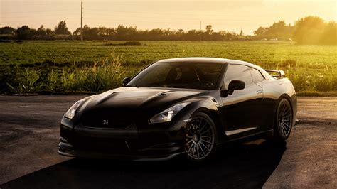 Nissan Gtr On Adv1 Wheels Wallpaper