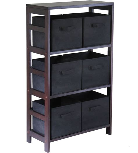 storage bookcase with baskets 6 basket storage shelf in shelves with baskets