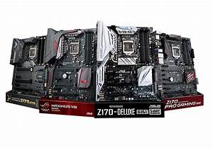 Asus Announces Z170 Series Motherboards