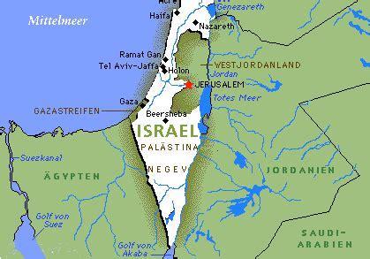Der zwischenstaatliche Konflikt Israel-Syrien - Karte