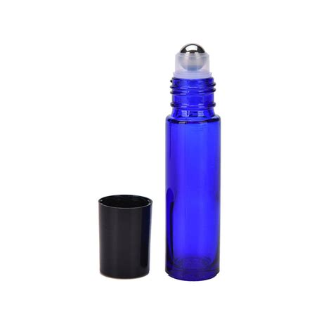 ✓ free for commercial use ✓ high quality images. LEMO 10ML Cobalt Blue Glass Roll-on Bottles With Stainless ...