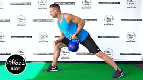 kettlebell exercises row arm toning