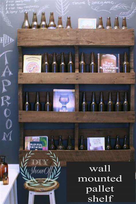 brilliantly clever diy pallet shelves