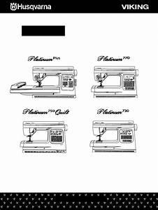 Husqvarna Platinum Plus User Manual