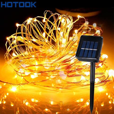 wholesale solar powered string lights 5m 10m 15m 20m