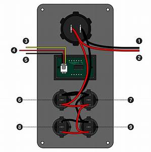 Carbon Switch Panel Wiring Instructions  U2013 Stedi