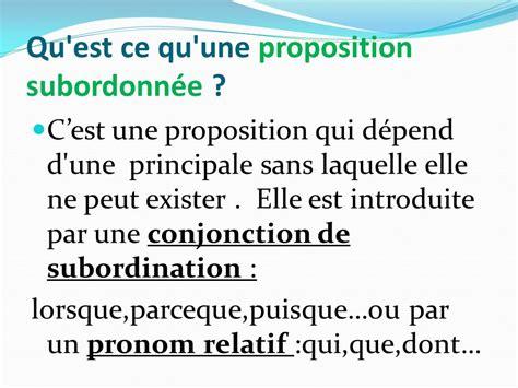 les propositions dans la phrase ppt t 233 l 233 charger
