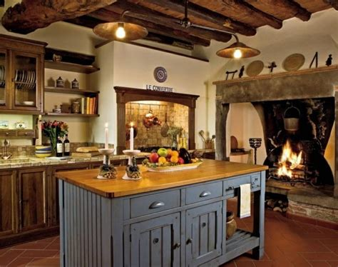 rustic kitchen designs photo gallery 10 exemples repr 233 sentent la cuisine moderne rustique 7840