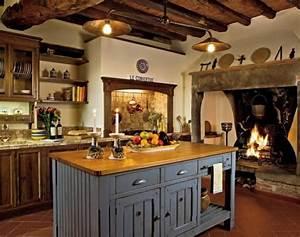 10 exemples representent la cuisine moderne rustique With cuisine rustique et moderne
