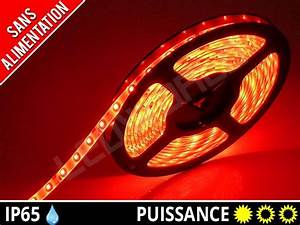 Ruban Led Rouge : ruban bande led rouge interieur exterieur 12v kit sur ~ Edinachiropracticcenter.com Idées de Décoration