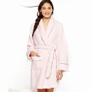 tommy hilfiger super soft short robe in pink lyst With robe tommy hilfiger fille