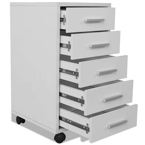 bureau a tiroir la boutique en ligne vidaxl caisson à tiroir de bureau