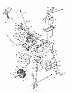 Mtd 14aj848h131  2001  Parts Diagram For Axle  U0026 Wheels