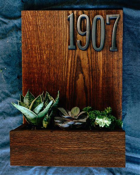 house number planter box dunn diy
