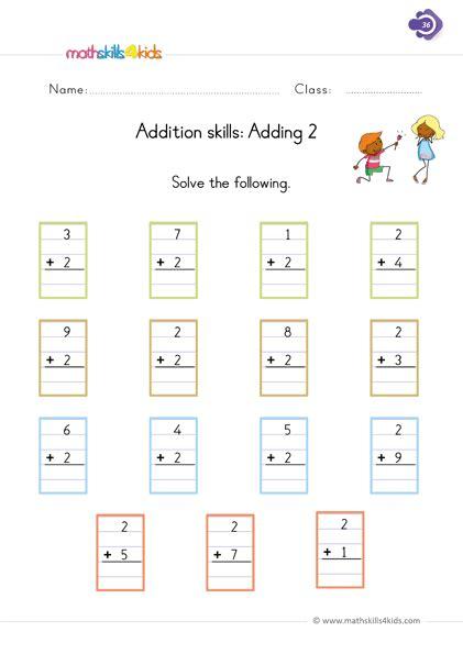 1 more or 1 less? 1 Digit Addition Worksheets for Grade 1 | 1st Grade Basic ...