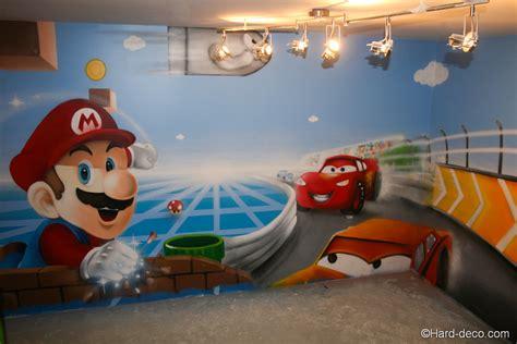 idee peinture chambre garcon decoration cuisine avec tissu
