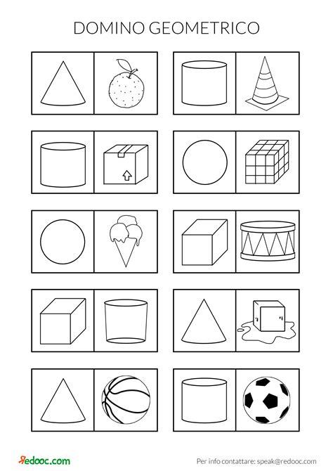figure da ritagliare per bambini cubo da ritagliare