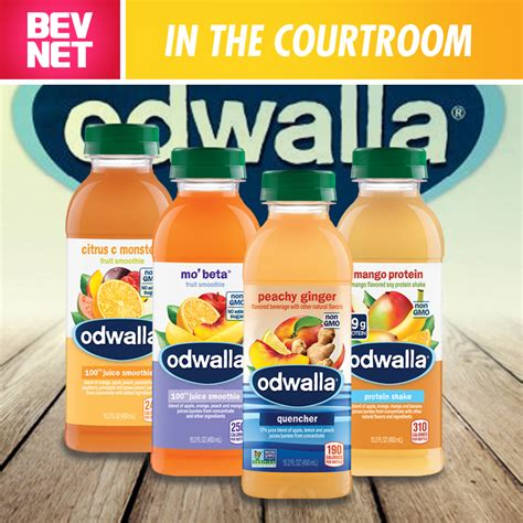 In the Courtroom: Odwalla Class Action Dropped - BevNET.com