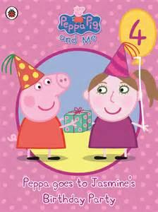 Peppa Pig Birthday Book