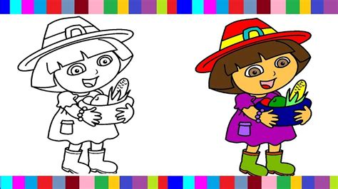 dora coloring pages dora colouring book colors