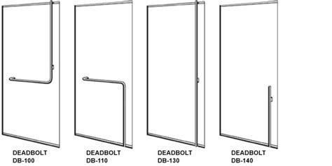 Crl / Blumcraft Architectural Glass Doors, Panic Devices