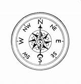 Compass Drawing Getdrawings sketch template