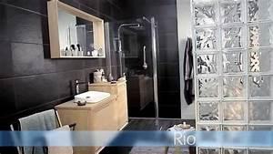 meubles de salle de bains rio youtube With idee faience salle de bain