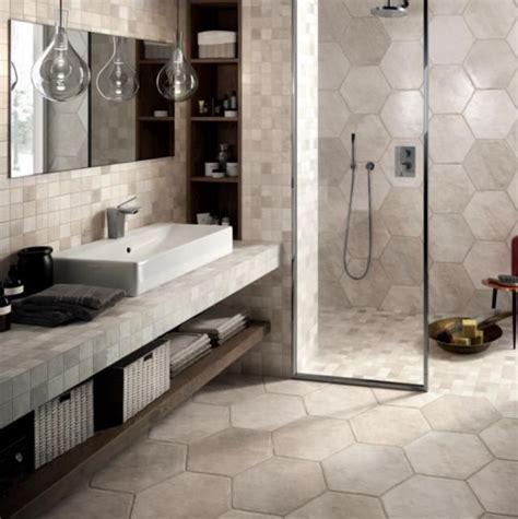 1000 ideas about hexagon tile bathroom on