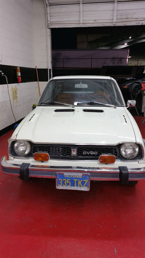 vintage honda civic 77 honda civic cvcc classic honda civic 1977 for sale