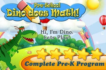 Dino Does PreSchool Math: Numbers and some ABC Fun ...