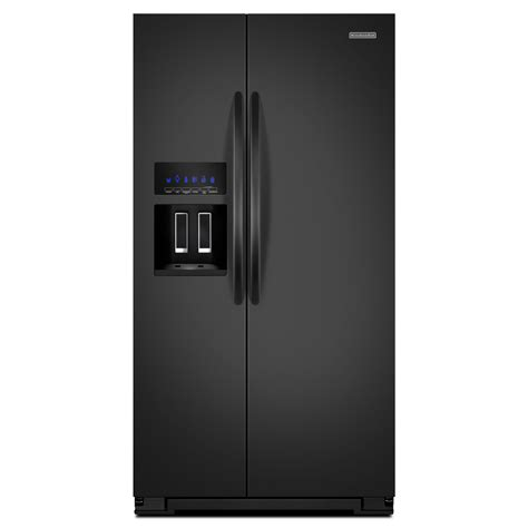 counter depth refrigerator dimensions kitchenaid kitchenaid ksc23c8eyb 22 5 cu ft counter depth side by