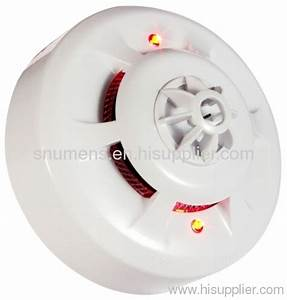Ul Approved Combined Smoke And Heat Detector From China