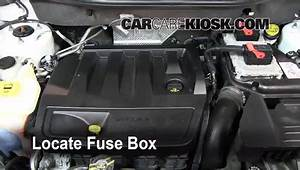 Interior Fuse Box Location  2007-2012 Dodge Caliber