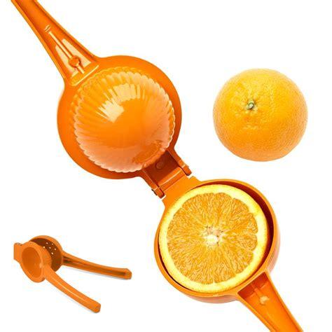 juicer orange squeezer juice lemon manual hand citrus fruit press held lime kitchen maker amazon walmart bar juicers